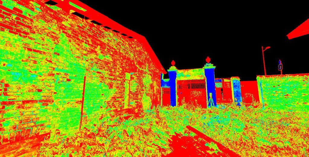 Skaning laserowy budynków zabytkowych przy ul Grzybowskiej