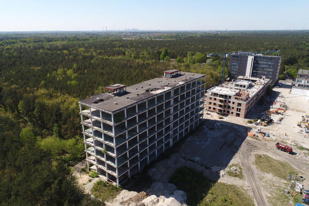 Ujęcia marketingowe budynku w Warszawie