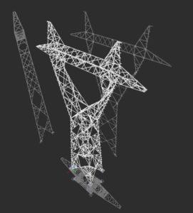 Konstrukcja stalowa BIM Inwentaryzacja