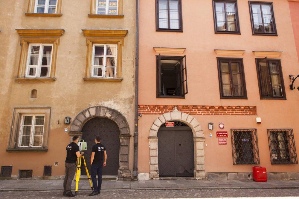 Inwentartyzacja elewacji na warszawskiej starówce