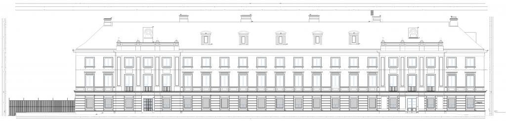 Inwentaryzacja zabytkowego budynku przy ulicy Długiej w Warszawie