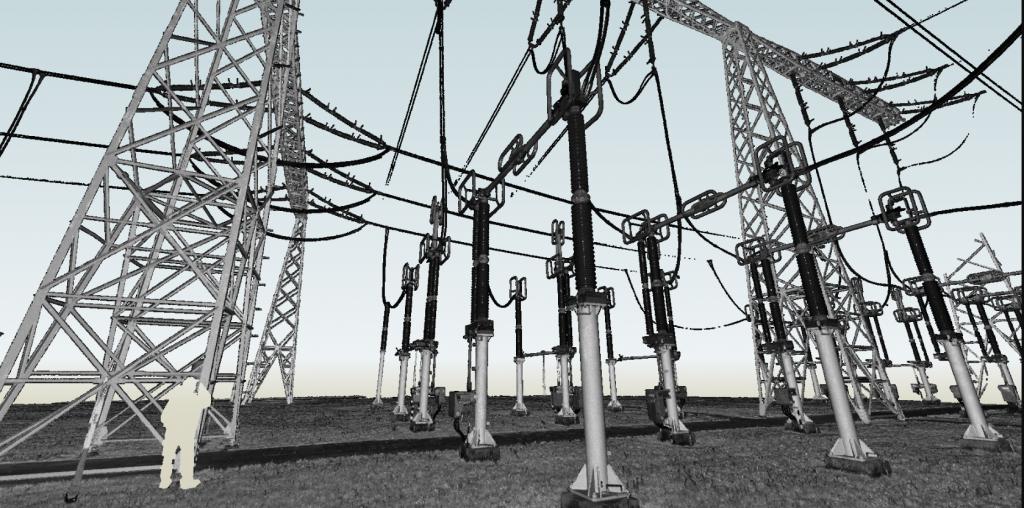 Inwentaryzacja stacji energetycznej w Plewiskach