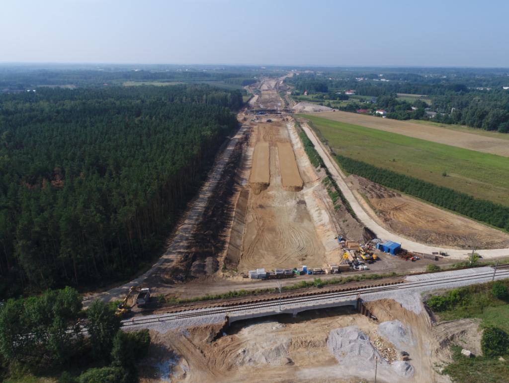 Zdjęcia inspekcyjne trasy S7