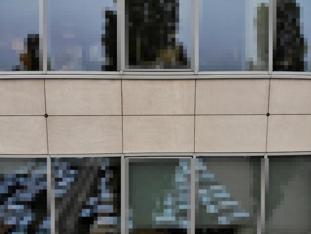 Zdjęcia inspekcyjne elewacji budynku na cele renowacji
