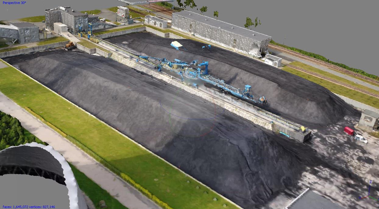 Inwentaryzacja składowisk węgla