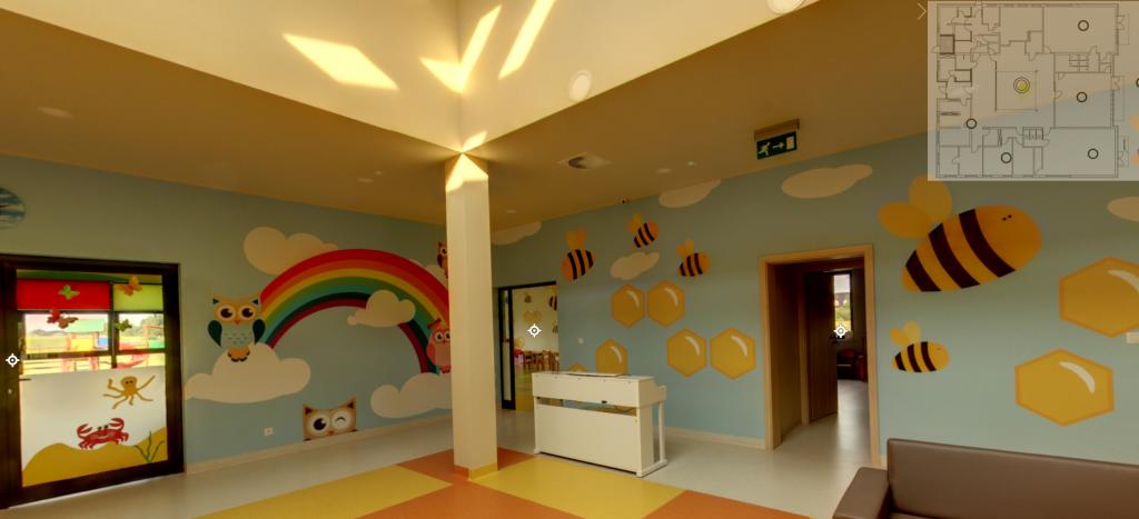Wirtualna wycieczka po przedszkolu w Przypkach