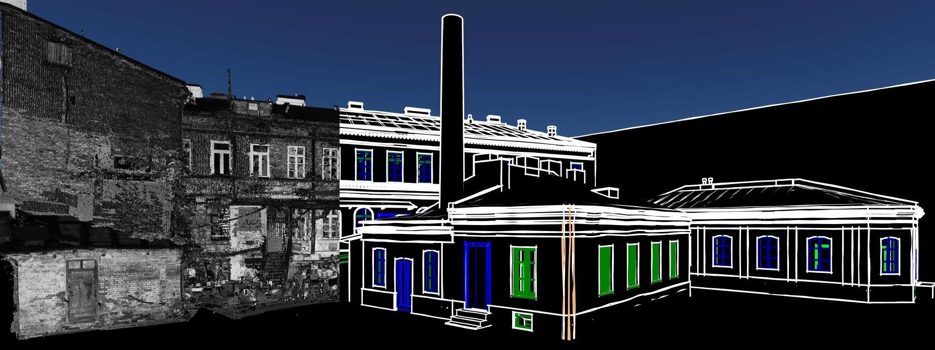 Inwentaryzacja BIM budynku