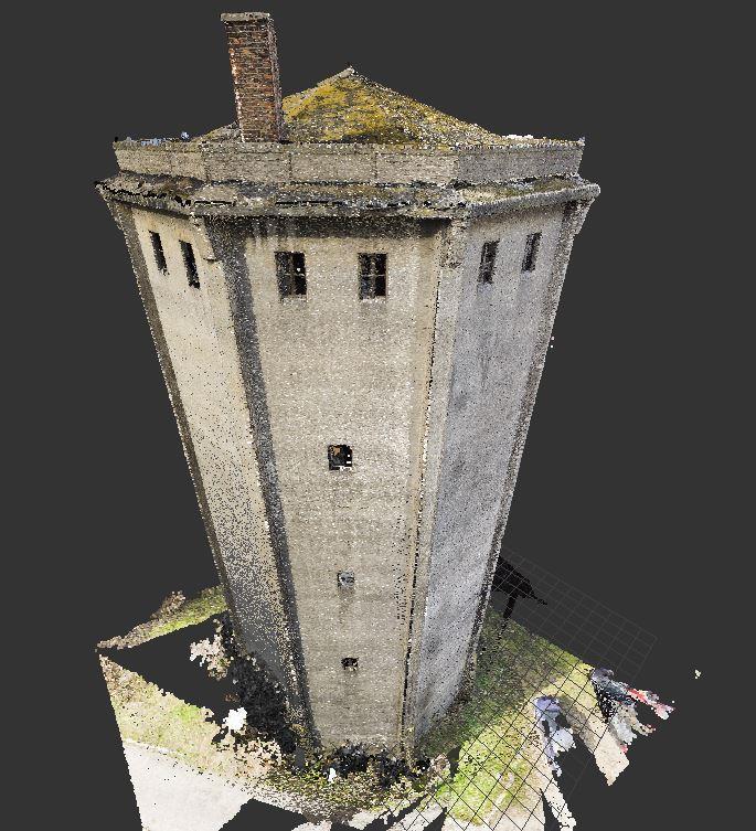 Inwentaryzacja wieży ciśnień w Tomaszowie Mazowieckim